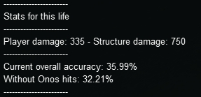 Client-side stats